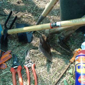 Cuidado y mantenimiento de herramientas de jardín