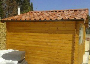 barnizar cobertizo madera