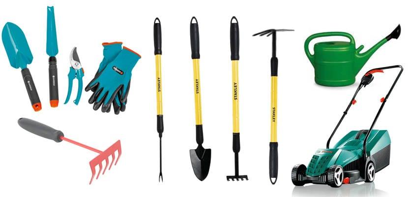 que herramientas se gastan en un jardin