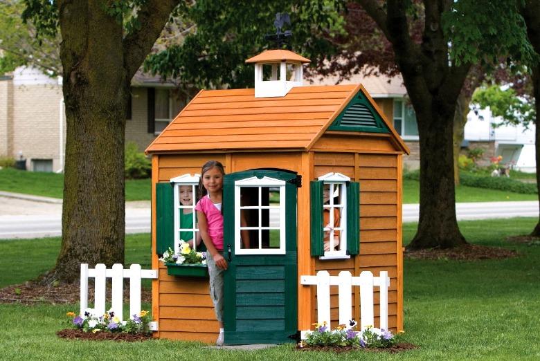 Caseta Exterior para Niños