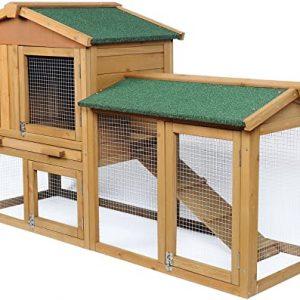 Caseta para conejos de exterior