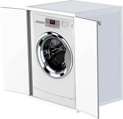 Mueble exterior lavadora y secadora